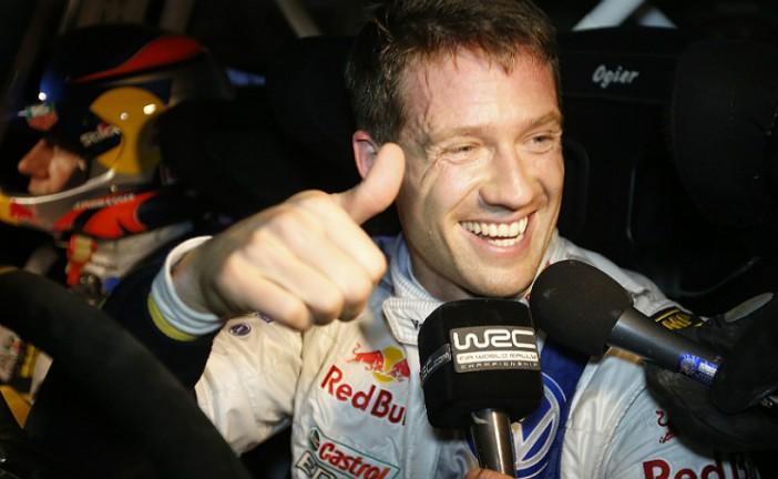Ogier ganó en España y consigue el segundo título consecutivo