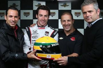 Indy Car: Pagenaud y su homenaje a Senna