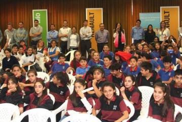 La Fundación Renault entregó los premios de la 6ta. Edición de su programa Educación Ambiental para Todos