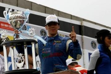 Matías Rodriguez le arrebató el triunfo a Rossi