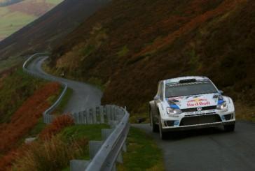 WRC: Ogier es cómodo líder en el rally de Gales