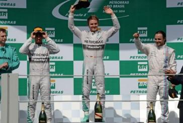 Nico Rosberg y Mercedes Benz Grand Prix dueños del fin de semana en Brasil
