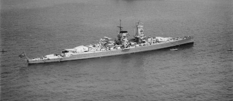El acorazado de bolsillo Admiral Graf Von Spee