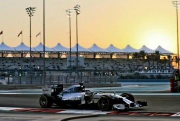 Hamilton maneja los tiempos en Abu Dhabi