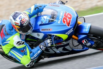 El Team Suzuki probó en Jerez