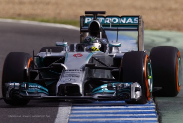 Vibrante desenlace en Abu Dhabi, Rosberg le arrebató la pole a Hamilton