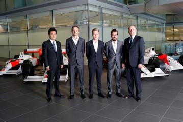 Oficial: Alonso – Button la alineación de Mc Laren 2015
