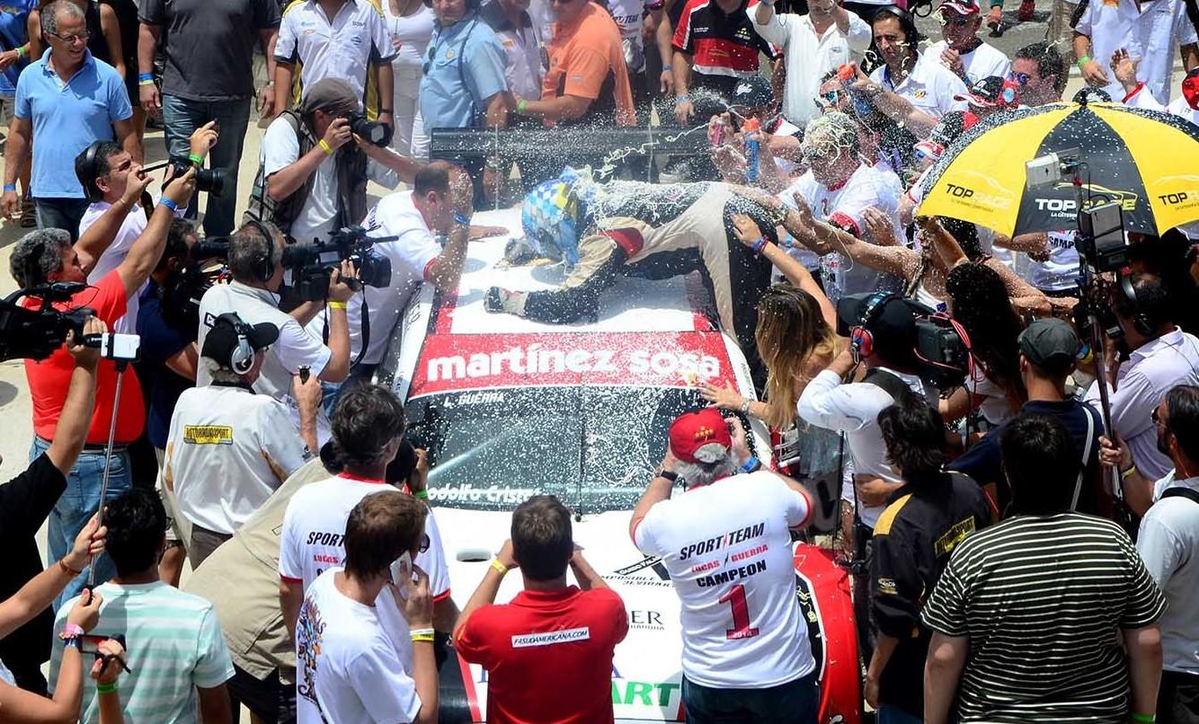 Top Race Series: Lucas Guerra se coronó campeón