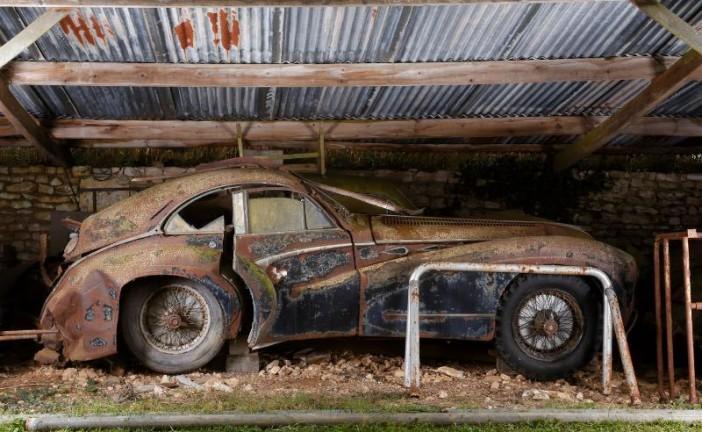 La increíble colección Baillon de 60 autos valuada en 20 millones de dólares