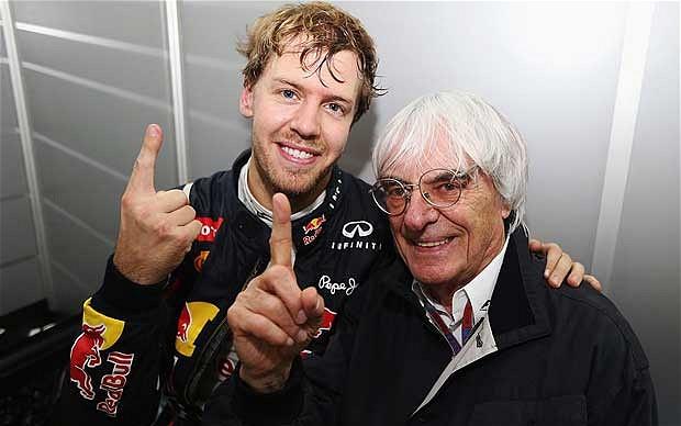Bernie panqueque: ahora Vettel y Alonso son «perdedores»