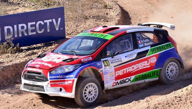Rally Argentino en Misiones: Fuchs y Baldoni al ataque