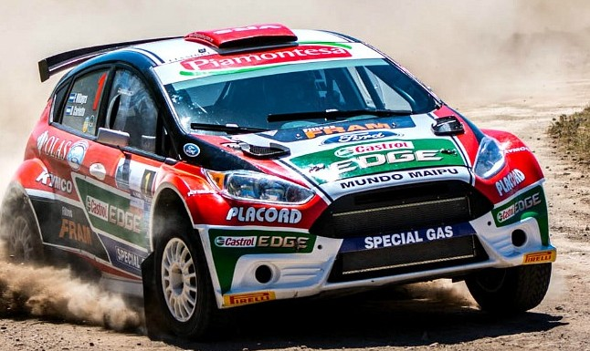 El Coyote no afloja y domina el rally puntano