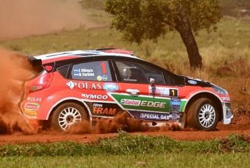 Rally Argentino: Villagra marca el rumbo en la prueba clasificatoria en Misiones
