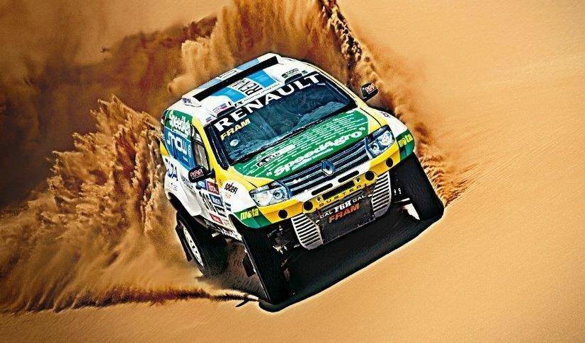 Renault presentó al equipo oficial para el Rally Dakar