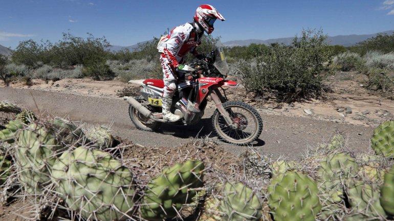 Javier Pizzolito, primer argentino en cumplir una etapa del Dakar