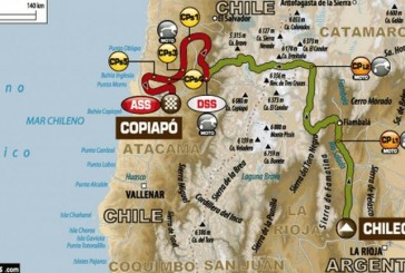 Dakar 2015 / Día 4: Altura y desiertos para llegar a Chile