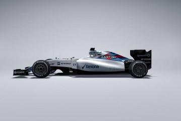 El nuevo Williams FW37 de 2015 sale a la luz