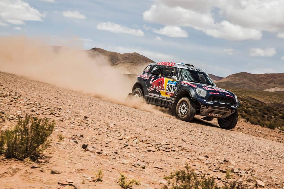 Dakar 2015 / Etapa 11: Barreda y Al-Attiyah, otra vez en lo alto