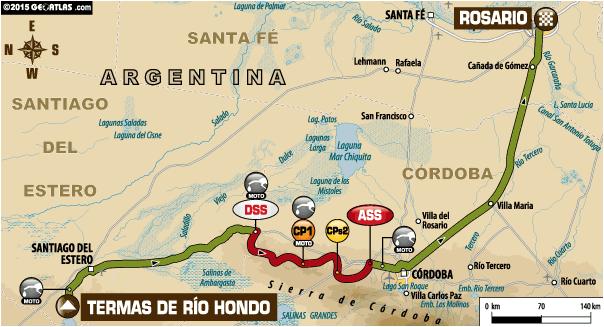 Dakar 2015 / Etapa 12: Ya se corre Termas – Rosario