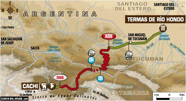 Dakar 2015 / Etapa 11: ya se corre el tramo Salta – Santiago del Estero