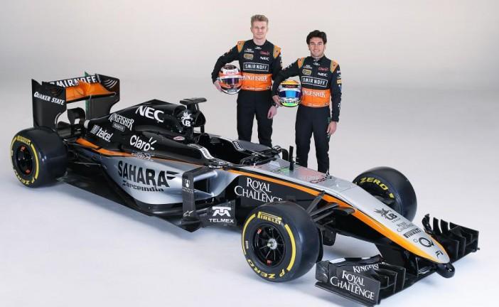 Force India presentó en México el prototipo 2015