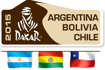 Todo listo para el Dakar 2015
