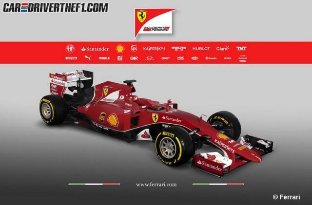 La Ferrari SF15-T ya es una realidad