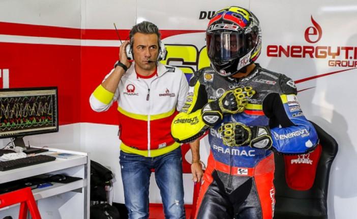 "Moto GP: Giacomo Guidotti: ""Esperamos mucho de Yonny Hernández"""
