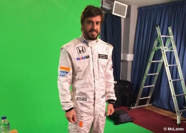 F1: Alonso va de blanco