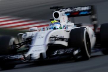 F1 Test Barcelona: Massa lidera por milésimas la tercera mañana