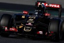 F1 Test Día 4: Romain Grosjean termina como líder en un accidentado día