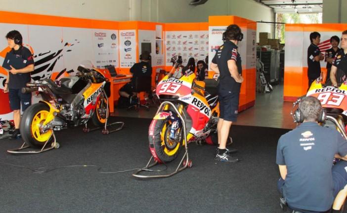 Moto GP: Márquez y Pedrosa lideraron los test de Sepang