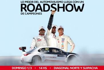 Triple Road Show de Citroën en Buenos Aires