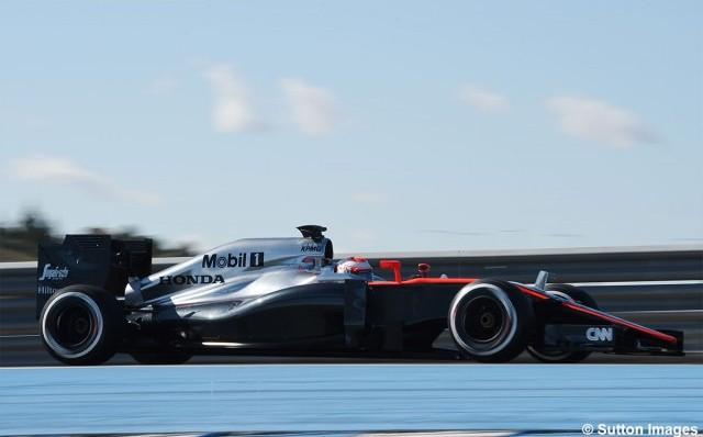 McLaren arrancará con Button los test de Barcelona