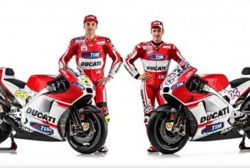 Moto GP: se presentó la Ducati Demosedici GP 15
