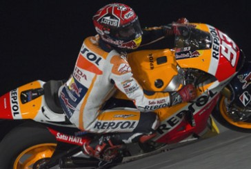 Moto GP: Marc Márquez en los tres primeros libres del GP de Catar