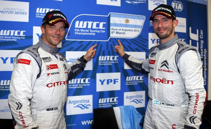 """WTCC: López y Loëb los ganadores en Termas. """"Pechito"""" es líder del campeonato"""