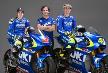 El equipo Suzuki MotoGP se presenta como Suzuki Ecstar