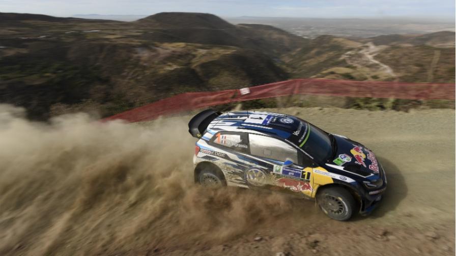 WRC: Ogier lidera un difícil rally en Mexico