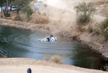 WRC: Tanak y Molder escapan ilesos de un tremendo accidente en Mexico