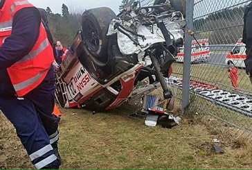 Muere un espectador en un accidente en Nürburgring