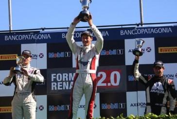 Ciarrochi volvió y se llevó la segunda final en la Fórmula Renault
