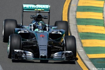 F1: Mercedes manda en los Libres de Australia y McLaren no termina de arrancar