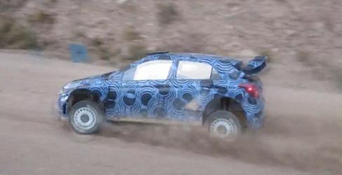 Test de Thierry Neuville con el nuevo Hyundai i20 WRC