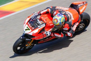 Superbikes: Davies encabeza la Super Pole, Tati Mercado clasificó 10mo.
