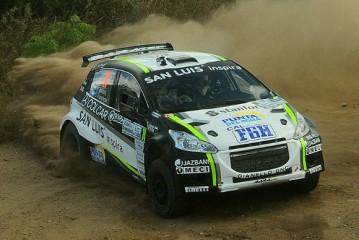 Rally Argentino: Baldoni domina desde el comienzo