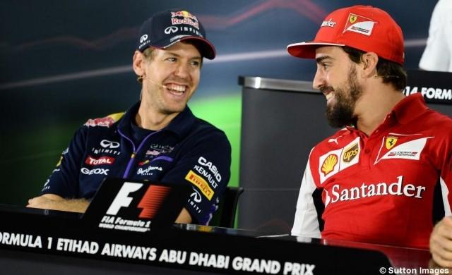 """F1 / Vettel: """"Alonso es el que mas me complicó"""""""