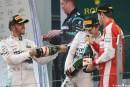 F1 Hamilton vs. Rosberg: se pudrió todo