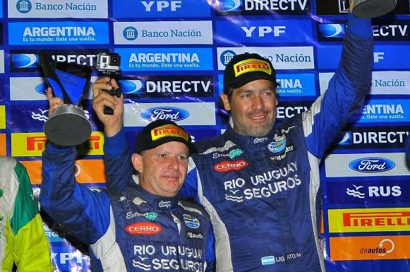 Rally Argentino: Ligato hizo un dos por uno