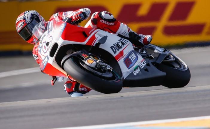 Moto GP: Dovizioso marca el pulso en Le Mans